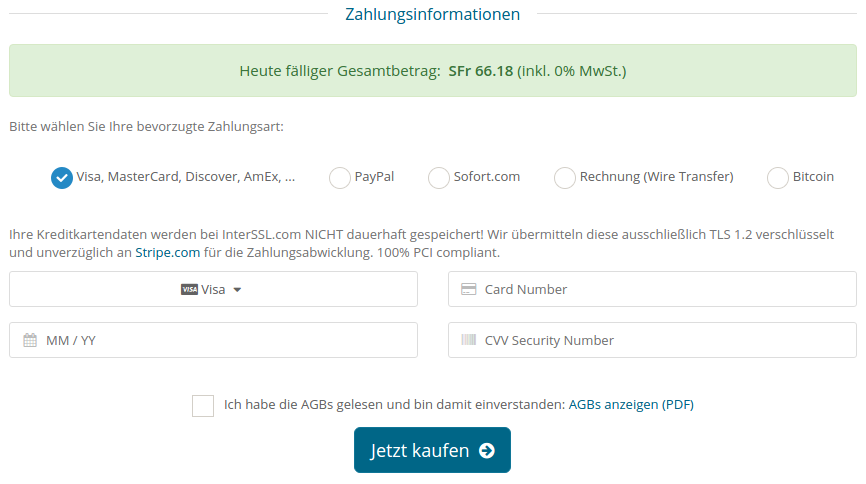 SSL Zertifikat kaufen ab € 11,25 / Jahr · Sicher mit HTTPS · DSGVO